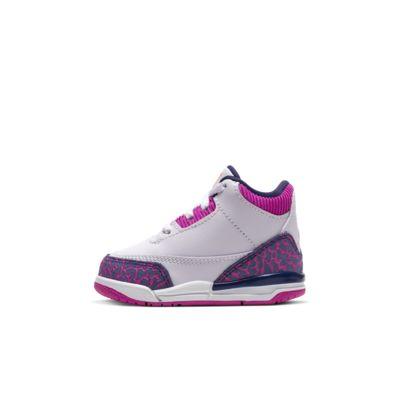 Air Jordan 3 Retro Infant/Toddler Shoe
