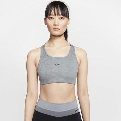 Αθλητικός στηθόδεσμος μέτριας στήριξης με ενιαία ενίσχυση Nike Swoosh