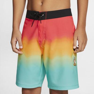 Shorts de playa para niño Hurley Phantom x Matsumoto Shave Ice Hawaii