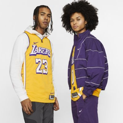 Camisola NBA da Nike Swingman LeBron James Lakers – City Edition
