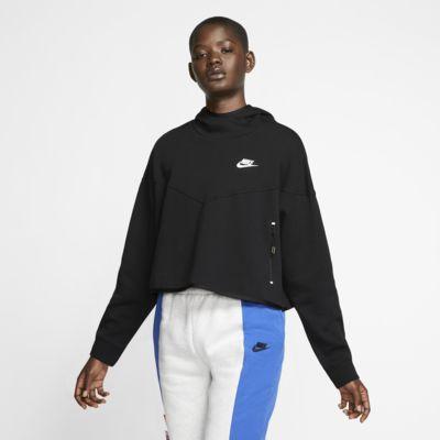 Felpa pullover con cappuccio Nike Sportswear Tech Fleece Donna