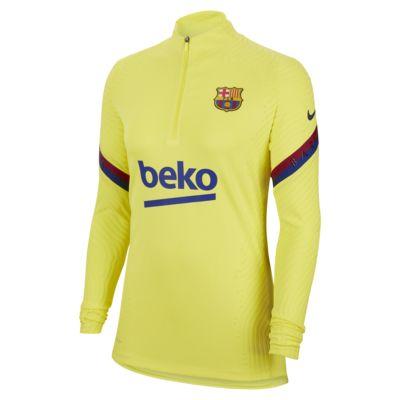 Nike VaporKnit FC Barcelona Strike Part superior d'entrenament de futbol - Dona