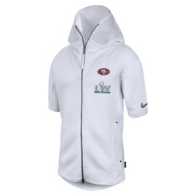 Nike Sideline Showout Super Bowl LIV (NFL 49ers) Men's Short-Sleeve Hoodie