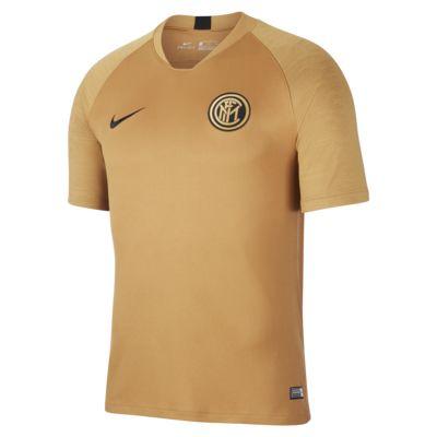 Pánské fotbalové tričko Nike Breathe Inter Milan Strike s krátkým rukávem