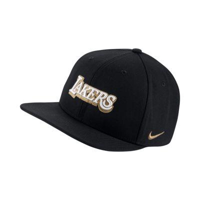 Lakers City Edition Nike Pro NBA Adjustable Hat
