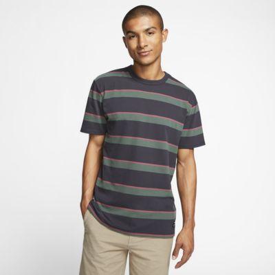 T-shirt męski Hurley Dri-FIT Harvey Stripe Patch