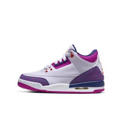 Air Jordan 3 Retro Big Kids' Shoe