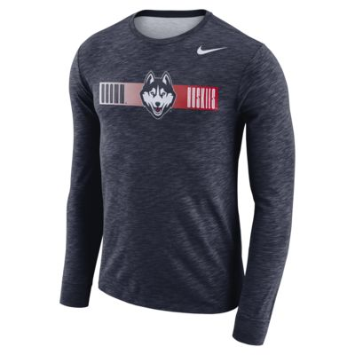 Nike College Dri-FIT (UConn) Men's Long-Sleeve T-Shirt