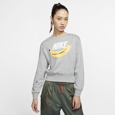 เสื้อคอกลมผ้าฟลีซผู้หญิง Nike Sportswear
