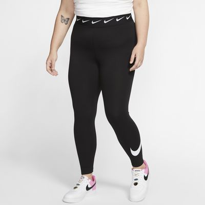 Nike Sportswear Club Women's High-Waisted Leggings (Plus Size)