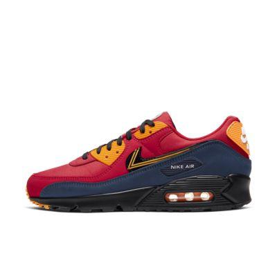 Mens Nike Air Max 97 Sneakers Black University Red