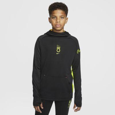 Nike Dri-FIT CR7 Older Kids' Pullover Football Hoodie