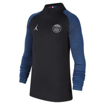 Футболка для футбольного тренинга для школьников Jordan x Paris Saint-Germain Dri-FIT Strike
