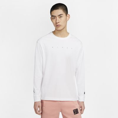Wings: The Jordan Chicago Collaborators' Collection Men's Long-Sleeve T-Shirt