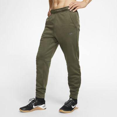 Męskie zwężane spodnie treningowe Nike Therma