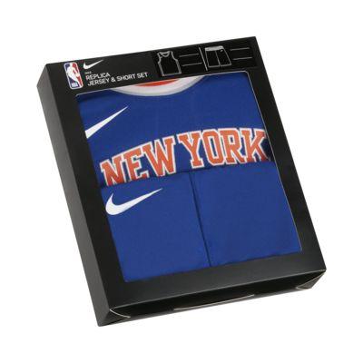 Zestaw koszulka i spodenki dla niemowląt Nike NBA Knicks Replica