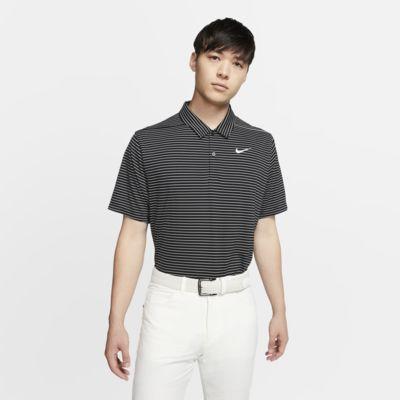 ナイキ Dri-FIT メンズ ストライプ ゴルフポロ