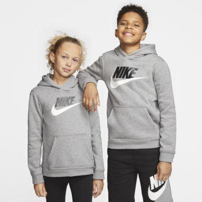 Bluza z kapturem dla dużych dzieci Nike Sportswear Club Fleece