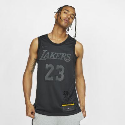 Мужское джерси Nike НБА LeBron James MVP Swingman (Los Angeles Lakers) с технологией NikeConnect