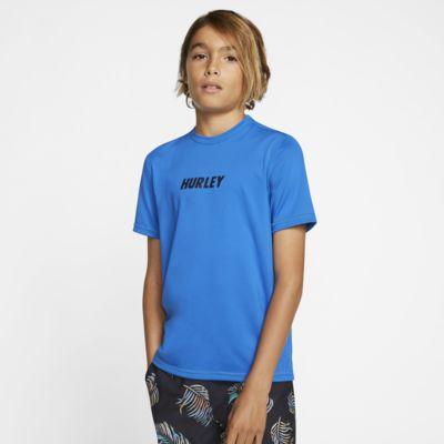 Hurley Fastlane Boys' Short-Sleeve Surf Shirt
