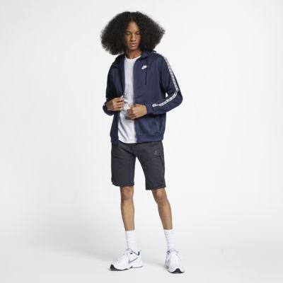 Pánská mikina s kapucí a dlouhým zipem Nike Sportswear