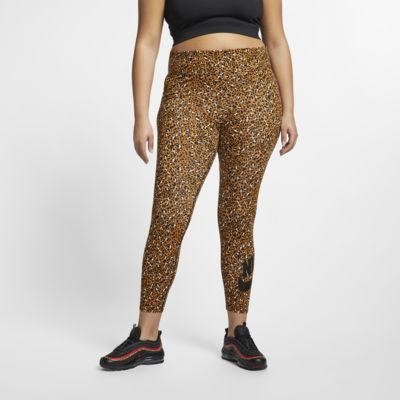Nike Sportswear Animal Print-leggings til kvinder (Plus Size)