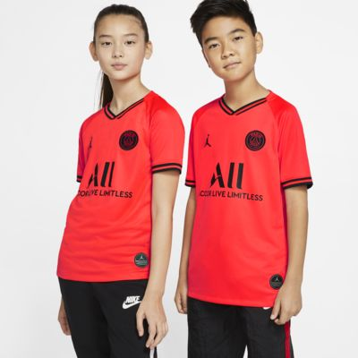 Jordan x Paris Saint-Germain 2019/20 Stadium Away Older Kids' Football Shirt