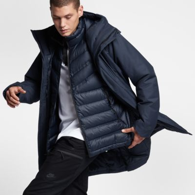 nike sportswear tech aeroloft 3 in 1 men 39 s jacket. Black Bedroom Furniture Sets. Home Design Ideas
