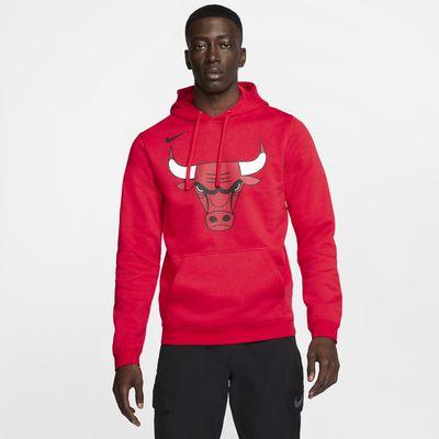Sudadera con capucha de la NBA para hombre Chicago Bulls Nike