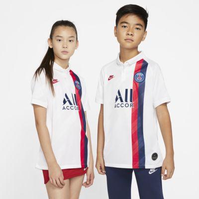 เสื้อแข่งฟุตบอลเด็กโต Paris Saint-Germain 2019/20 Stadium Third