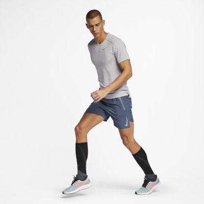 Nike Rise 365–kortærmet løbeoverdel til mænd