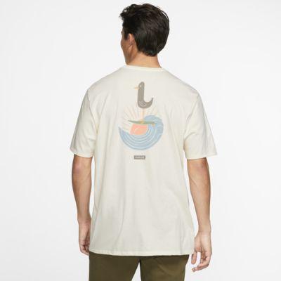 Hurley Premium Surfin Bird Pocket Camiseta - Hombre
