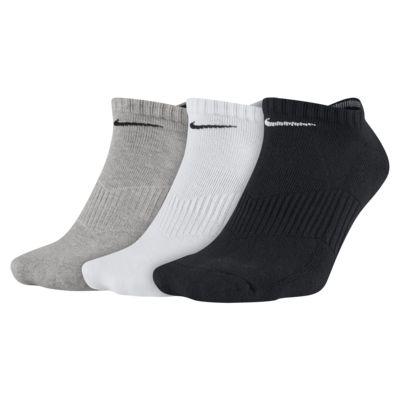 Nike Cotton Cushion No-Show Socks (3 Pair)