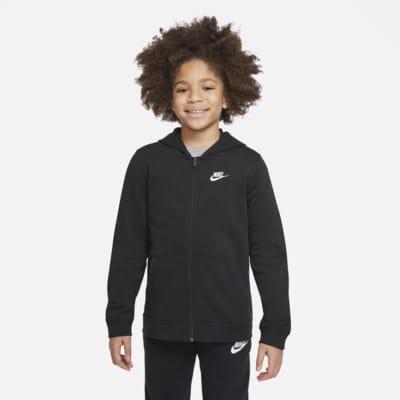 Nike Sportswear Club Big Kids' Full-Zip Hoodie