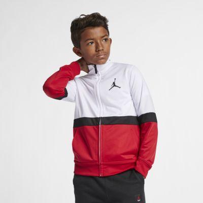 Bunda se zipem po celé délce Jordan Sportswear Diamond pro větší děti (chlapce)