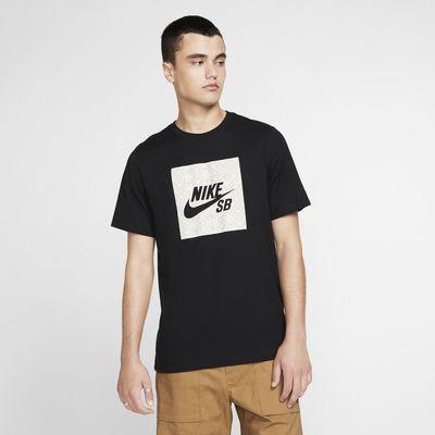 Ανδρικό T-Shirt skateboarding με λογότυπο Nike SB
