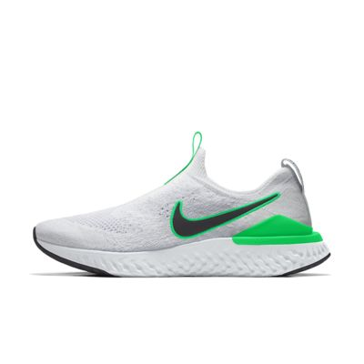 Chaussure de running personnalisable Nike Epic Phantom React Flyknit By You pour Homme
