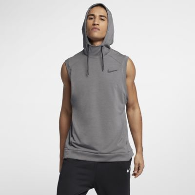 Nike Dri Fit Hooded Men's Sleeveless Training Top. Nike.Com by Nike