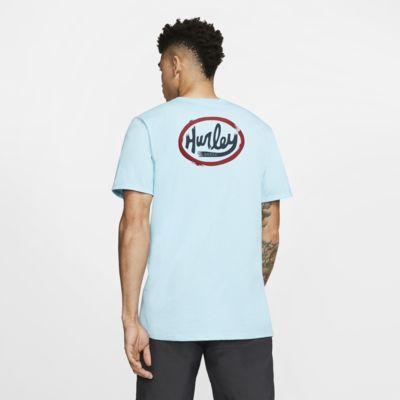 Hurley Ovals Kaliteli Kesim Erkek Tişörtü