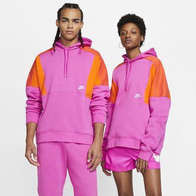 Nike Sportswear Color-Block Pullover Hoodie
