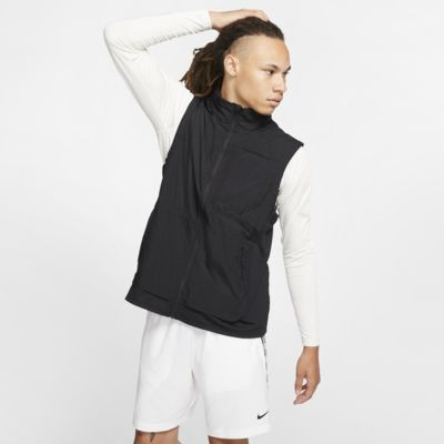 Chaleco de entrenamiento con capucha para hombre Nike Flex