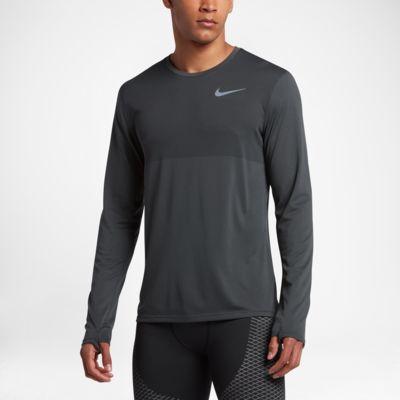 Nike Zonal Cool Relay langermet løpetrøye for herre