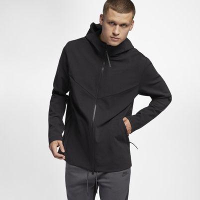 เสื้อมีฮู้ดแบบทอซิปยาวผู้ชาย Nike Sportswear Tech Pack