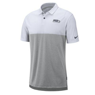 Nike Breathe (NFL Seahawks) Men's Polo