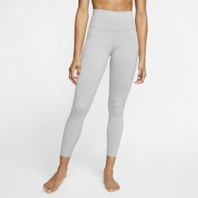 Nike Yoga Luxe Women's 7/8 Metallic Tights