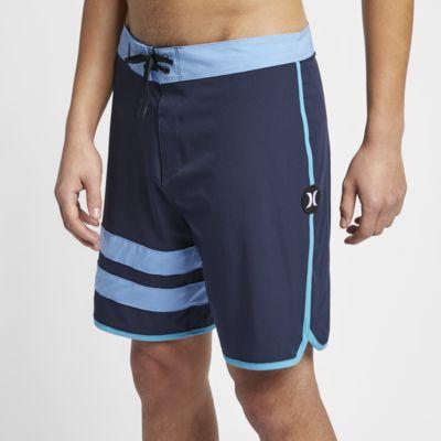 "Hurley Phantom Block Party Solid Men's 18"" Board Shorts"