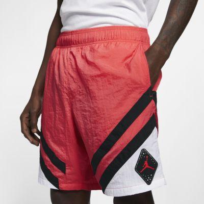 Купить Мужские нейлоновые шорты Jordan Legacy AJ 6, Светящиеся угольки/Белый/Черный, 22748889, 12532118