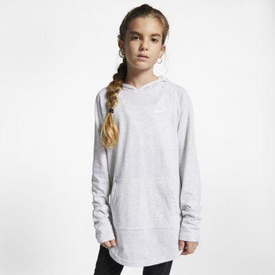 Nike Sportswear Big Kids' (Girls') Jersey Pullover Hoodie