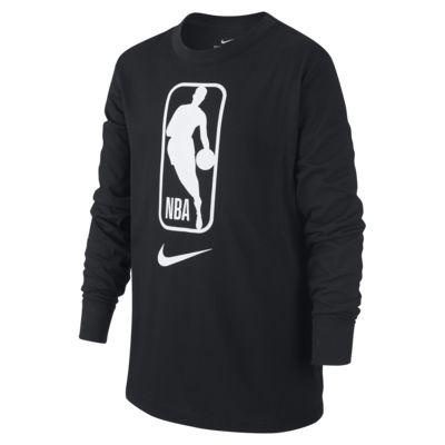 Dětské tričko NBA s dlouhým rukávem Nike Dri-FIT