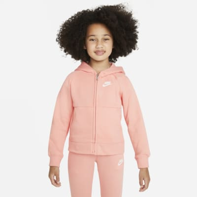 Nike Sportswear Younger Kids' Fleece Full-Zip Hoodie